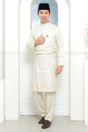 Baju Melayu Sakura Cream