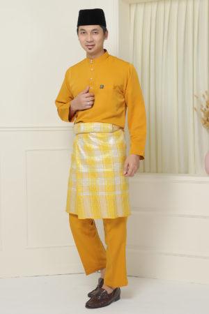 Baju Melayu Sakura Mustard