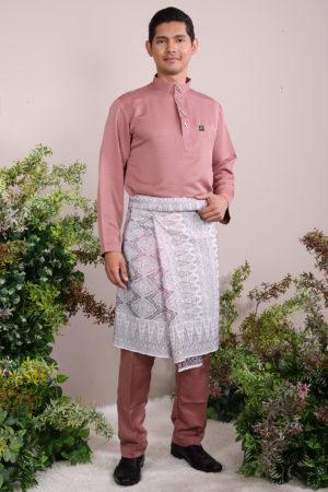 Baju Melayu Sakura Rose Gold