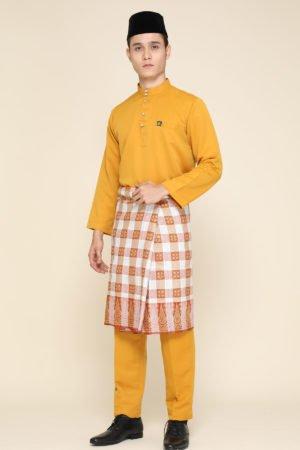 Baju Melayu Mustard