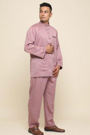 Baju Melayu Rose Gold