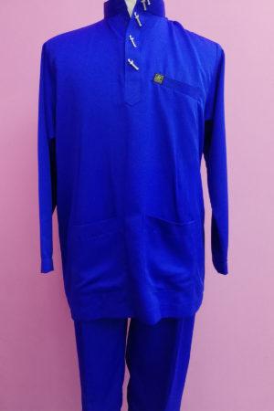 Baju Melayu Royal Blue