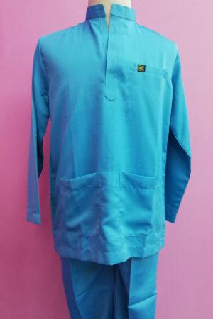 Baju Melayu Sky Blue