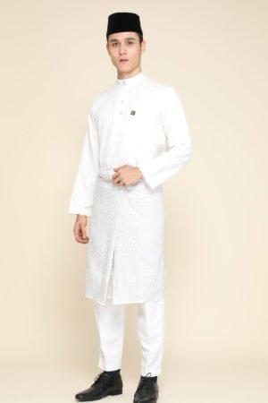 Baju Melayu White