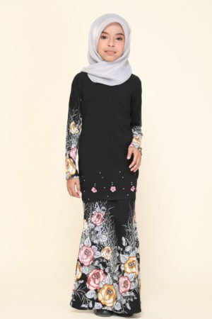 Kurung Flora Kids Black