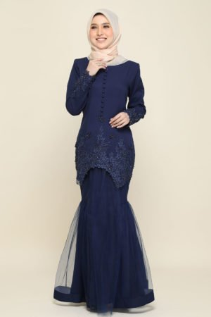 Dress Heleena Navy Blue