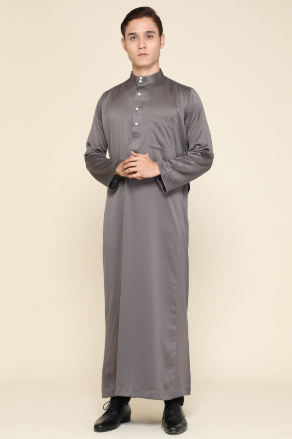Jubah Mecca Grey