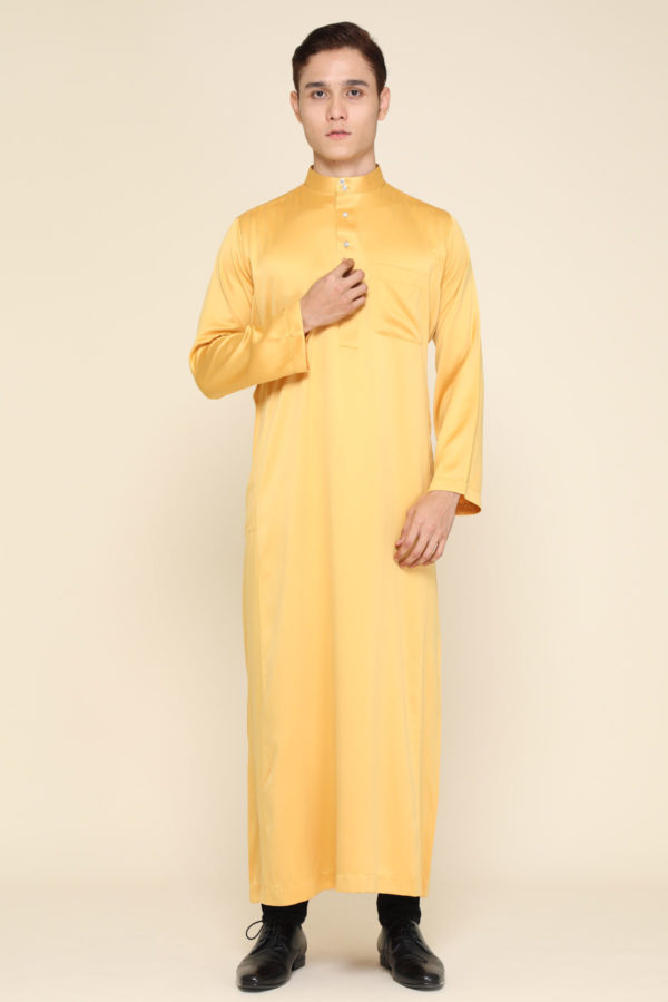 Jubah Mecca Mustard