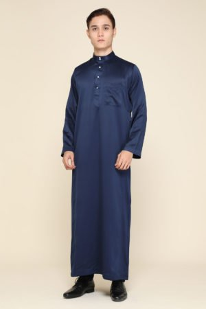 Jubah Mecca Navy Blue