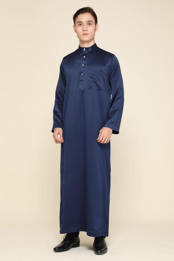 Jubah Mecca Navy Blue