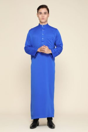 Jubah Mecca Royal Blue