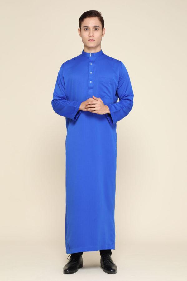 Jubah Mecca Royal Blue