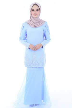 Dress Lashira Baby Blue
