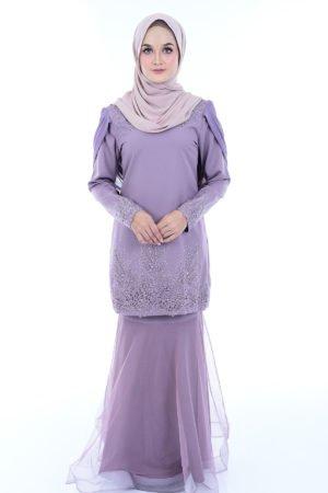 Kurung Lashira Violet