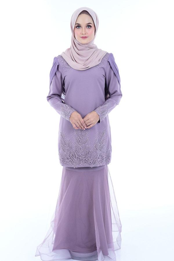 Dress Lashira Dusty Purple