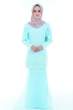 Kurung Lashira Mint Green