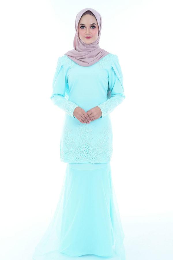 Dress Lashira Mint Green