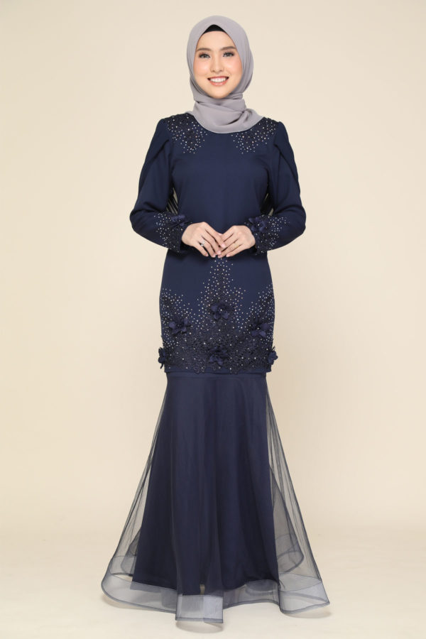 Dress Lashira Navy Blue