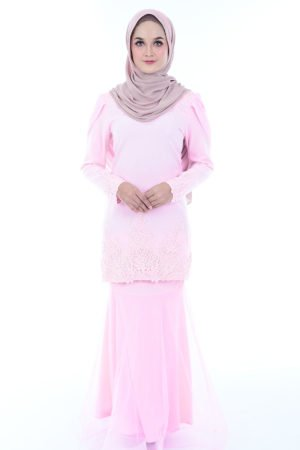 Kurung Lashira Light Pink