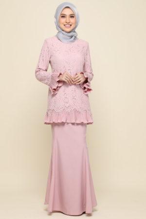 Kurung Nayra Dusty Pink