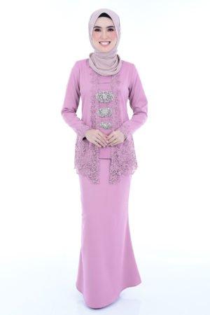 Kebaya Syasya Dusty Purple