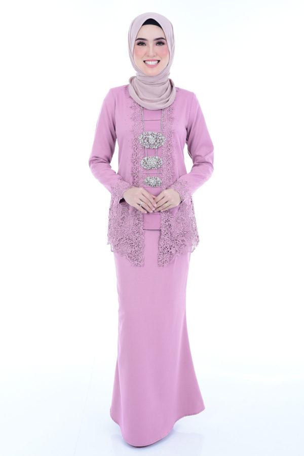 Kebaya Syasya Dusty Pink