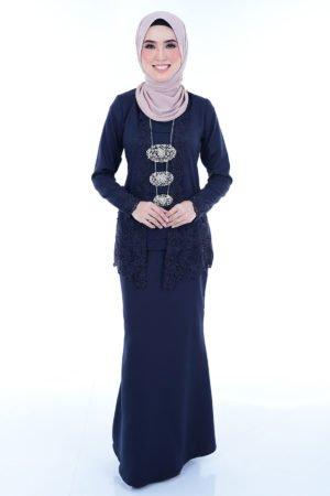 Kebaya Syasya Navy Blue