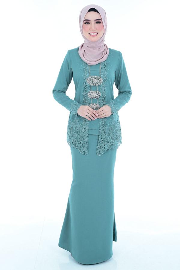 Kebaya Syasya Turquoise
