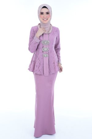 Kebaya Teja Dusty Purple