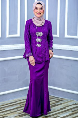 Kebaya Teja Purple Magenta