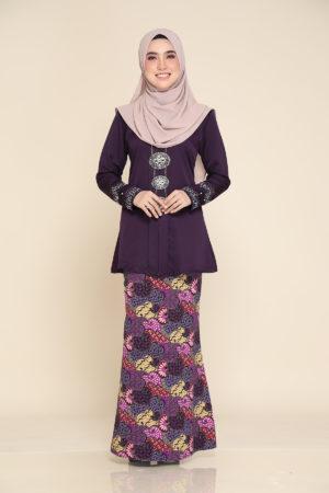 Kebaya Aisha Dark Purple