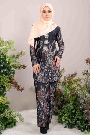 Kebaya Batik Bali Black