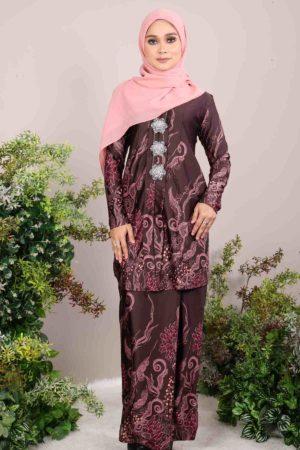 Kebaya Batik Bali Brown