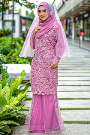 Kurung Deena Dusty Pink