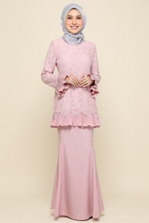 Kurung Nayra Light Pink