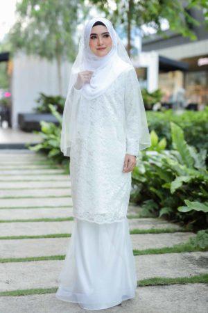 Kurung Deena White