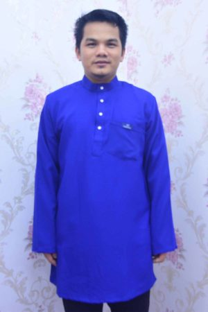 Kurta Habibi Royal Blue
