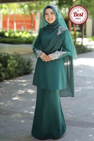 Kurung Seri Emerald Green