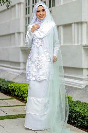 Kurung Zayyan Off White