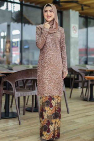 Kurung Farhana Brown