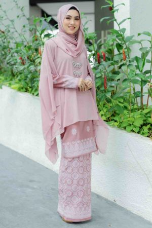 Kurung Permaisuri Rose Gold