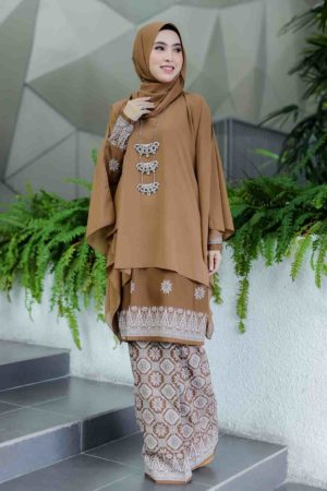 Kurung Permaisuri Brown