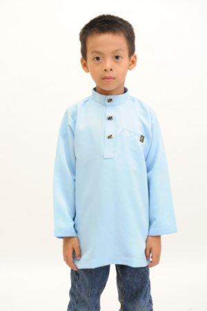 Kurta Abu Bakar Kids Baby Blue