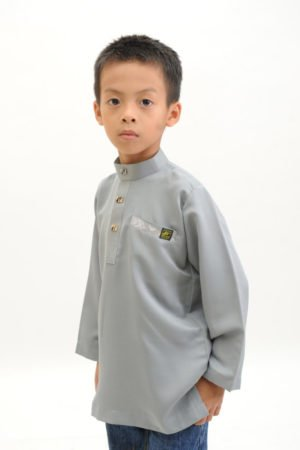 Kurta Abu Bakar Kids Grey
