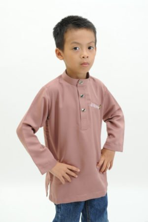 Kurta Abu Bakar Kids Rose Gold
