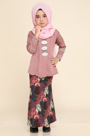 Kebaya Aisha Kids Rose Gold