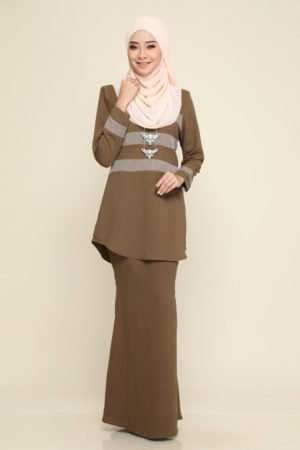 Kurung Sandra Dusty Green