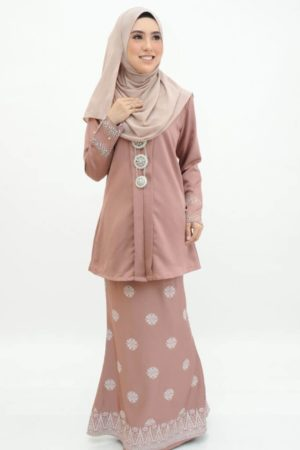 Kebaya Kain Songket Rose Gold