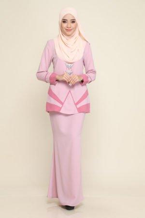 Kurung Xzandra Pink