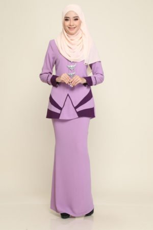 Kurung Xzandra Purple